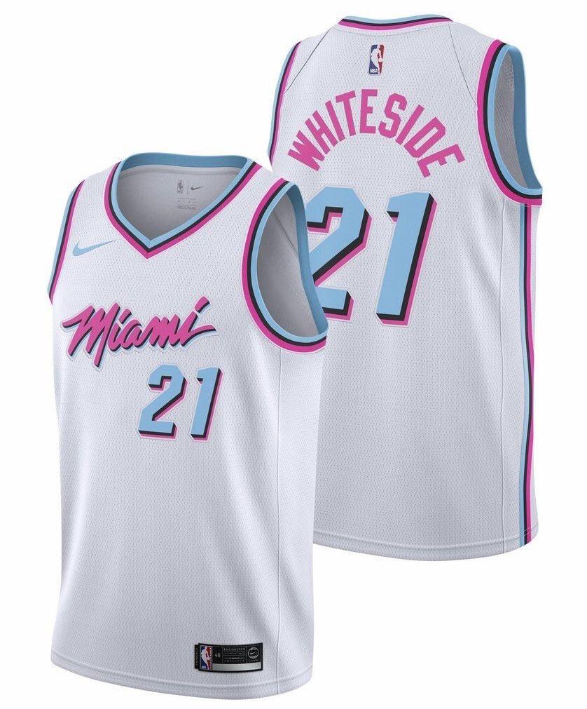 Nike NBA City Edition Miami Vice