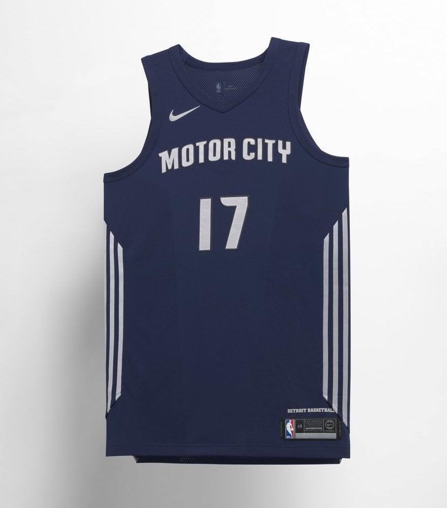 Nike NBA City Edition Motor City