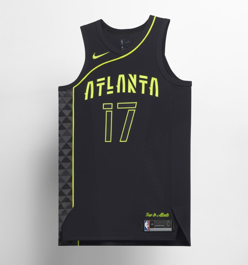 Nike NBA City Edition Uniform Atlanta Hawks