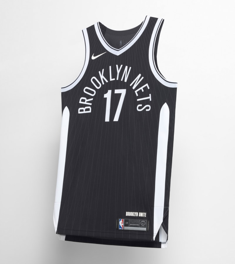 Nike NBA City Edition Uniform Brooklyn Nets