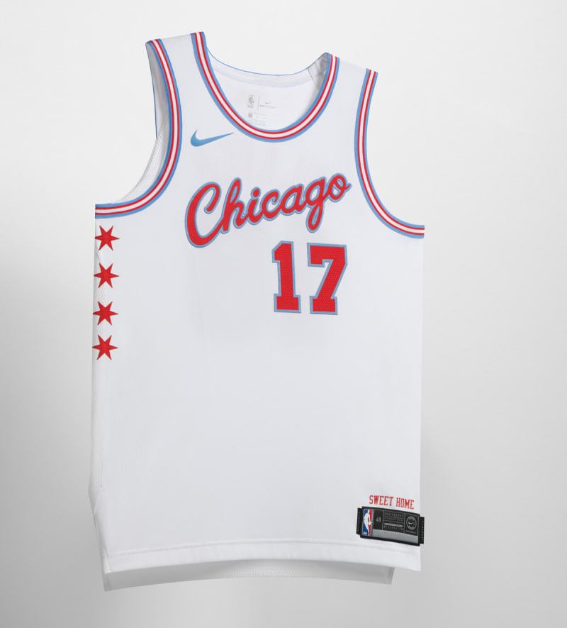 Nike NBA City Edition Uniform Chicago Bulls