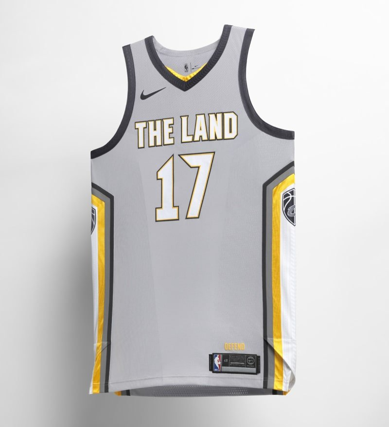 Nike NBA City Edition Uniform Cleveland Cavaliers