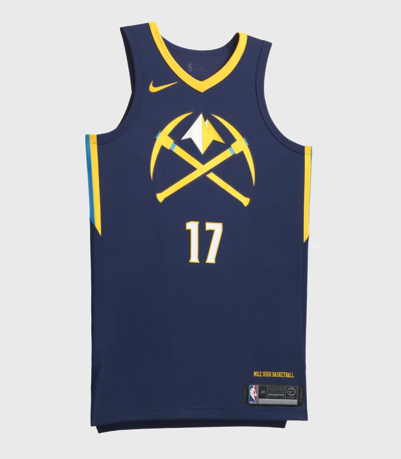 Nike NBA City Edition Uniform Denver Nuggets