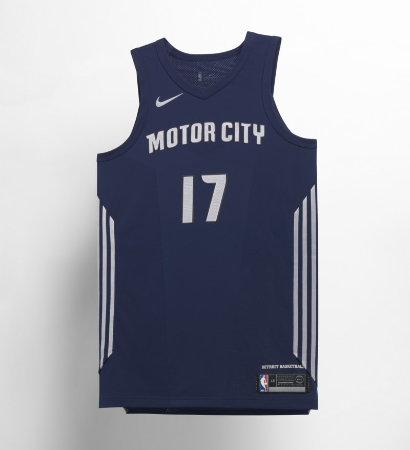 Nike NBA City Edition Uniform Detroit Pistons