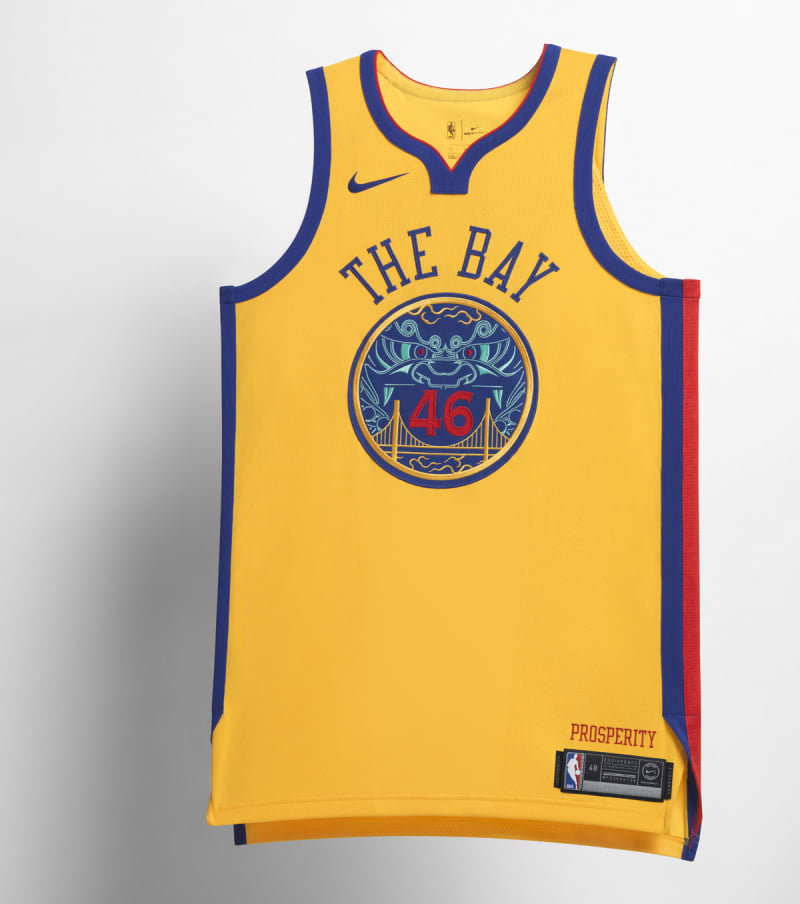 Nike NBA City Edition Uniform Golden State Warriors