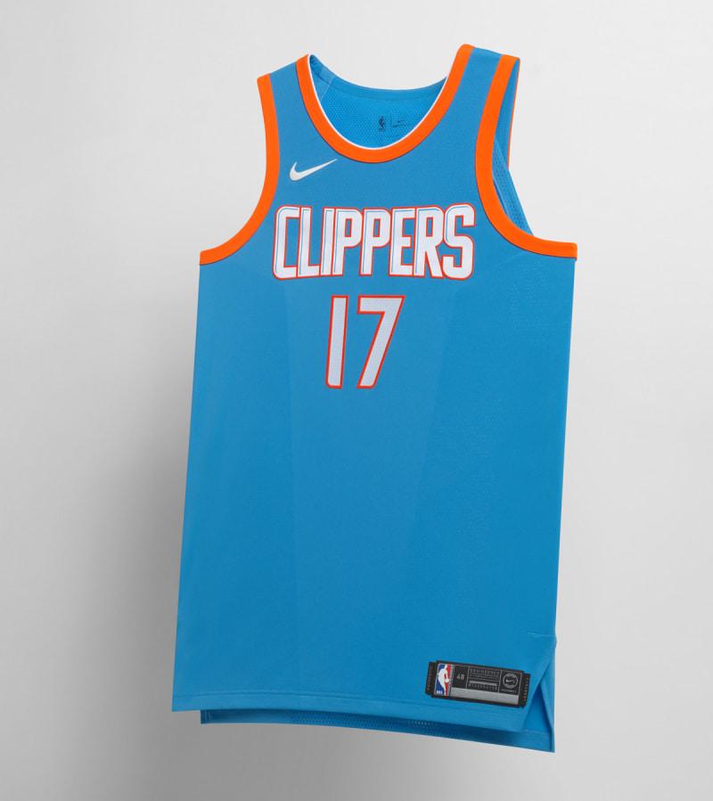 Nike NBA City Edition Uniform LA Clippers