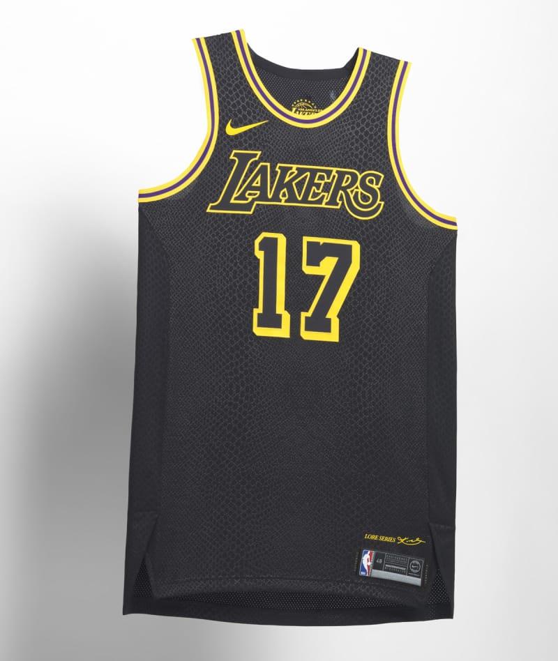 Nike NBA City Edition Uniform LA Lakers