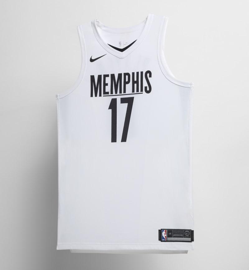Nike NBA City Edition Uniform Memphis Grizzlies