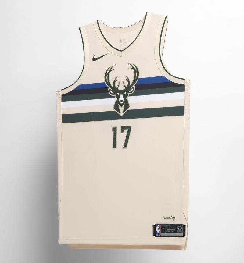Nike NBA City Edition Uniform Milwaukee Bucks