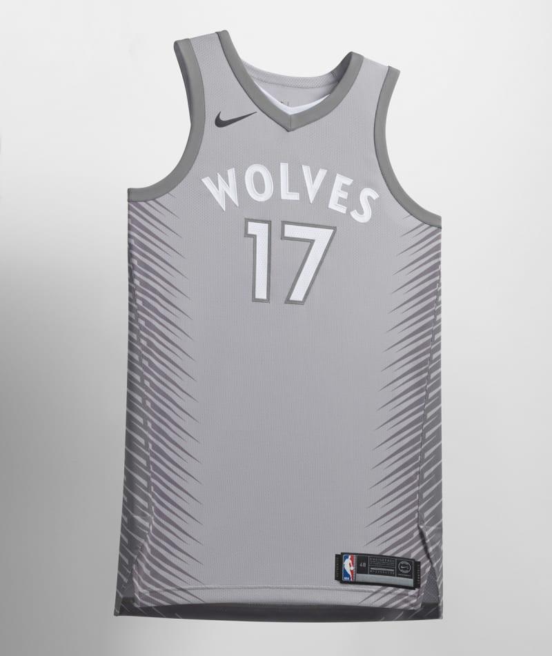 Nike NBA City Edition Uniform Minnesota Timberwolves
