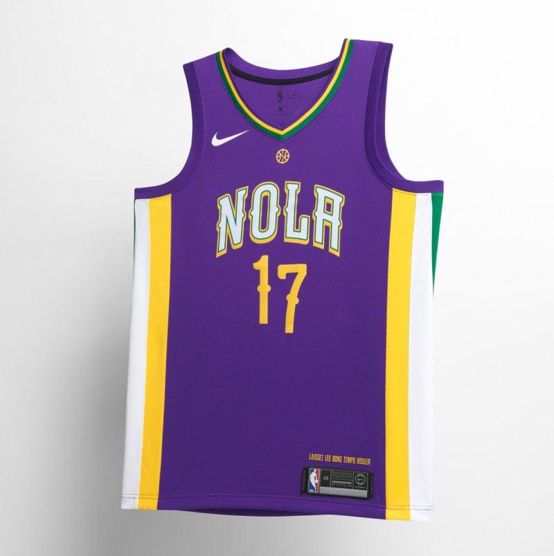 Nike NBA City Edition Uniform New Orleans Pelicans