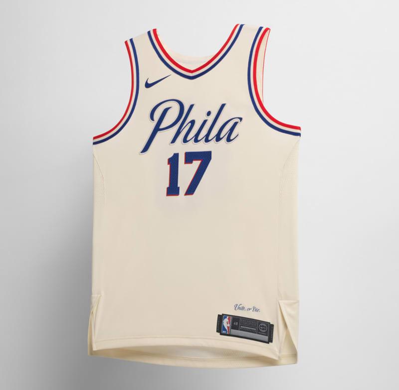 Nike NBA City Edition Uniform Philadelphia 76ers