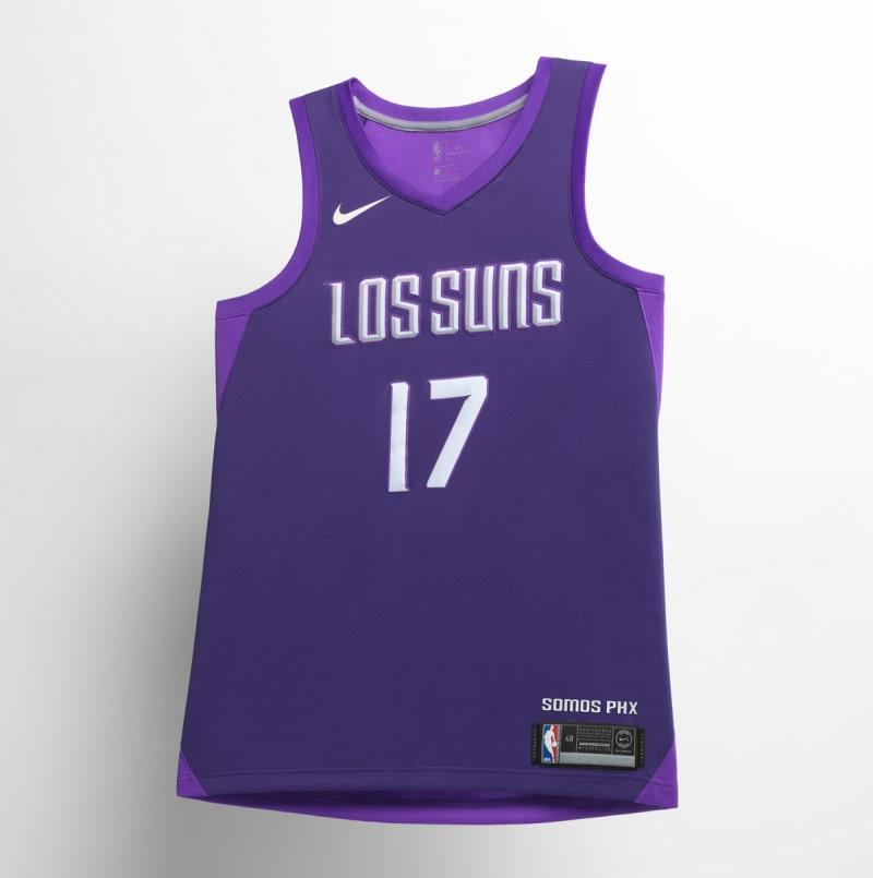 Nike NBA City Edition Uniform Phoenix Suns