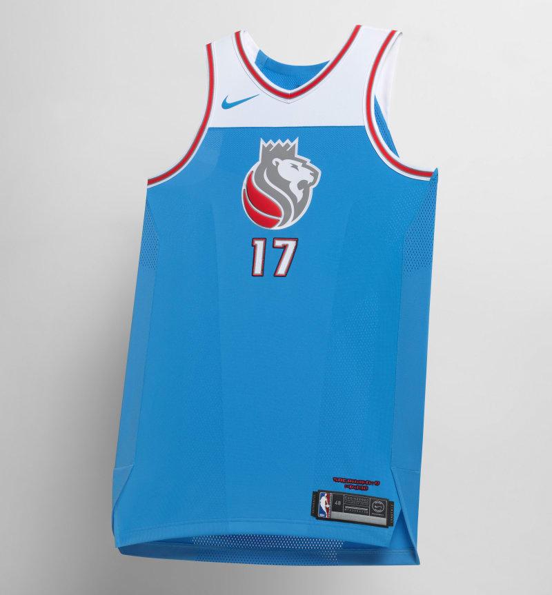 Nike NBA City Edition Uniform Sacramento Kings