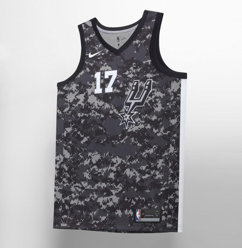 Nike NBA City Edition Uniform San Antonio Spurs