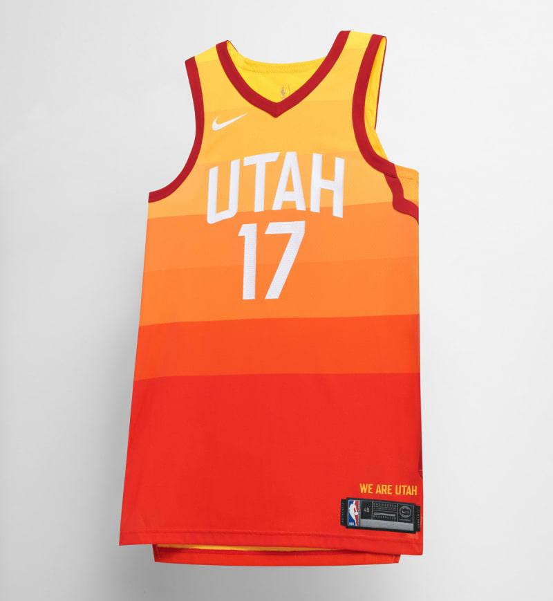 Nike NBA City Edition Uniform Utah Jazz