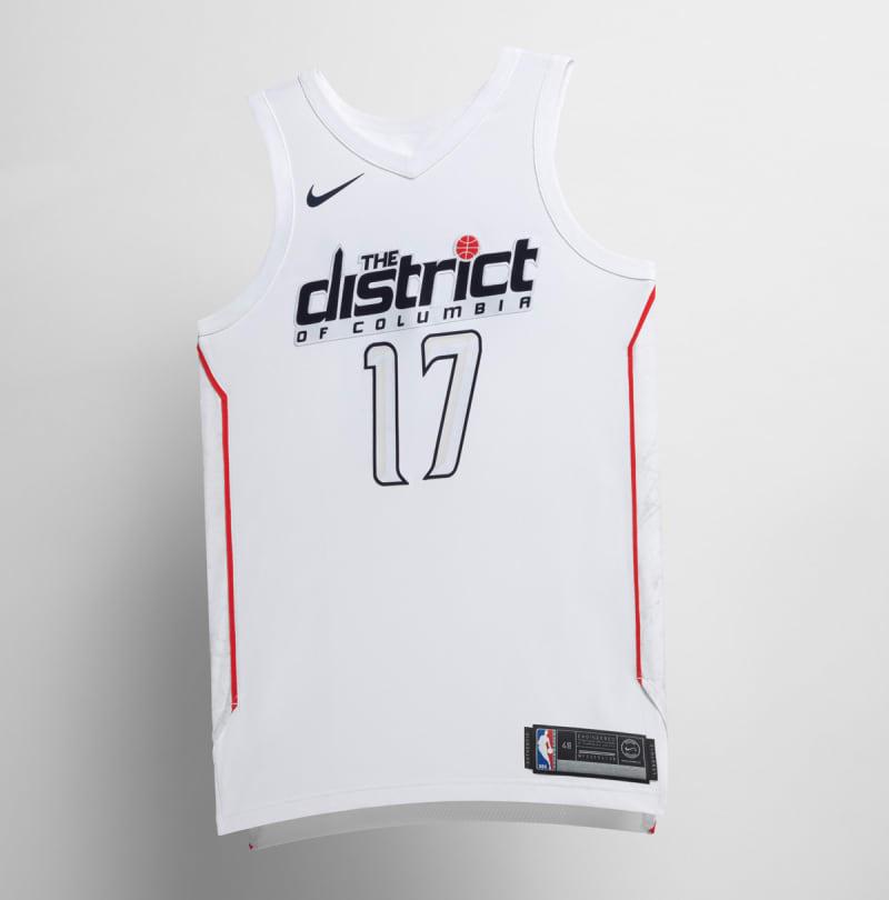 Nike NBA City Edition Uniform Washington Wizards