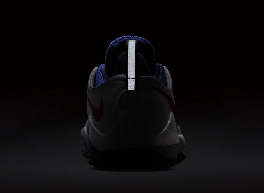 Nike PG 1 White Red Royal Blue
