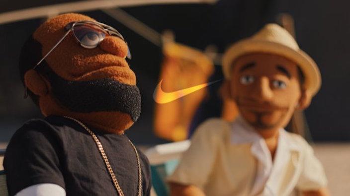 Nike Puppets Kobe Bryant LeBron James
