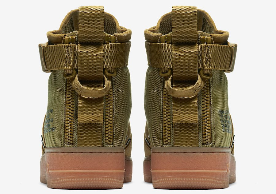 Nike SF-AF1 Mid Military Green 917753-302