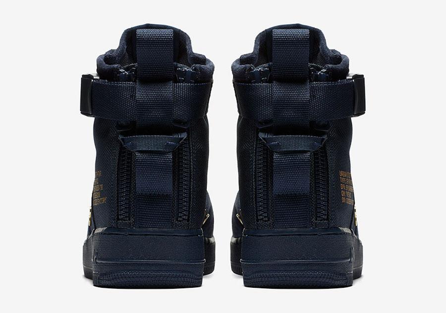 Nike SF-AF1 Mid Obsidian Suede 917753-400