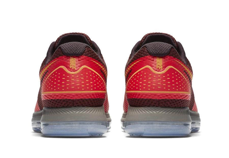 Nike Zoom All Out Low 2 Siren Red Laser Orange AJ0035-600