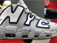 NYC Nike Air More Uptempo