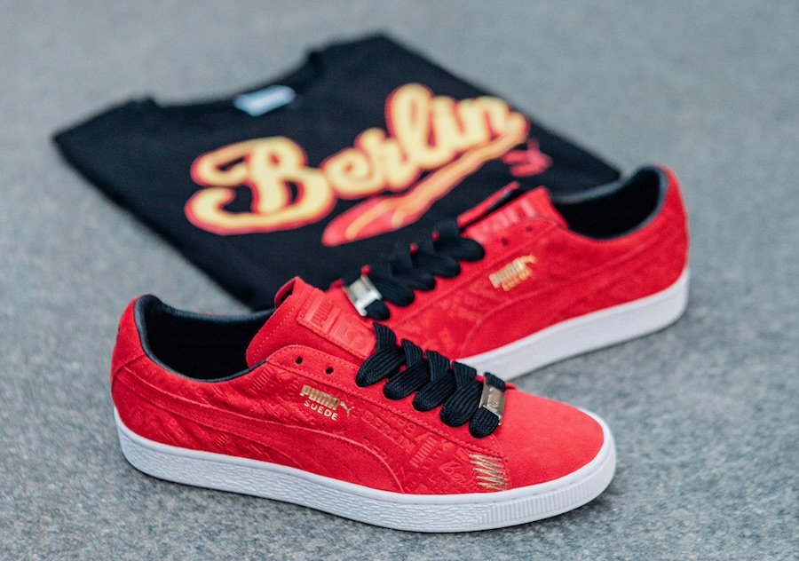 Puma Suede 50 Breakdance Cities Pack