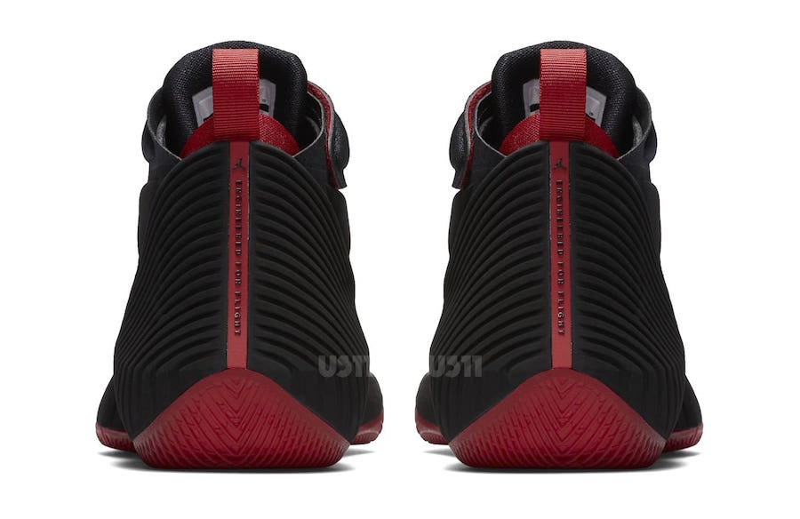 Russell Westbrook Jordan Fly Next Black Red