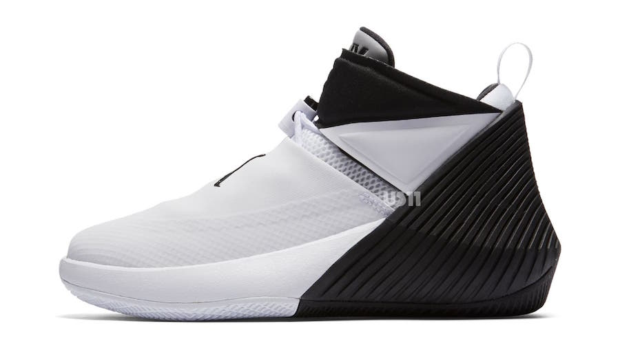 Russell Westbrook Jordan Fly Next White Black