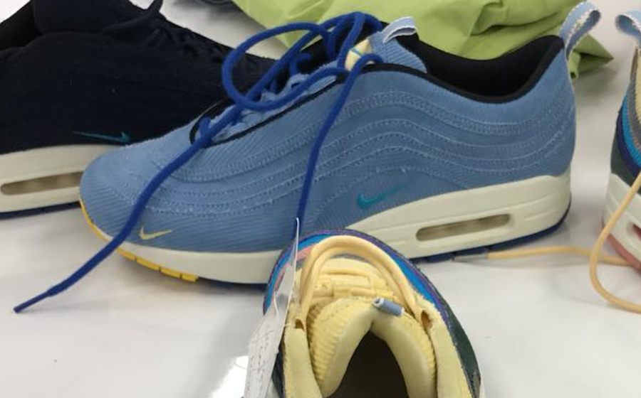 37f78de8e5abc Sean Wotherspoon Nike Air Max 1 97 Samples