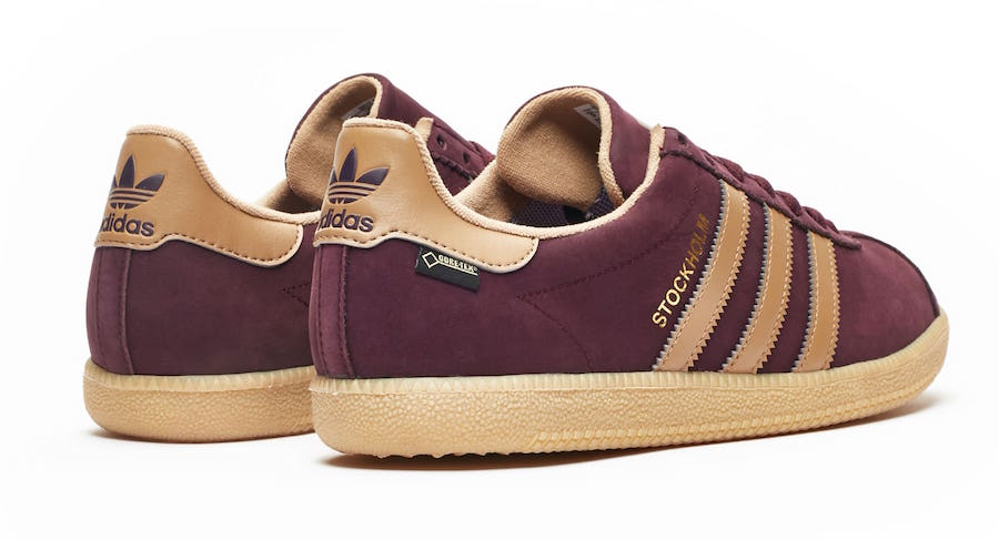 Sneakersnstuff adidas Originals Stockholm Gore Tex Dark Burgundy AC7752