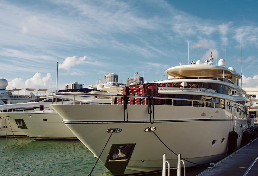 Social Status Air Jordan 1 Art Basel Yacht Recap