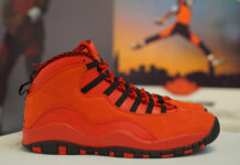 Steve Weibe Air Jordan 10 Red Black