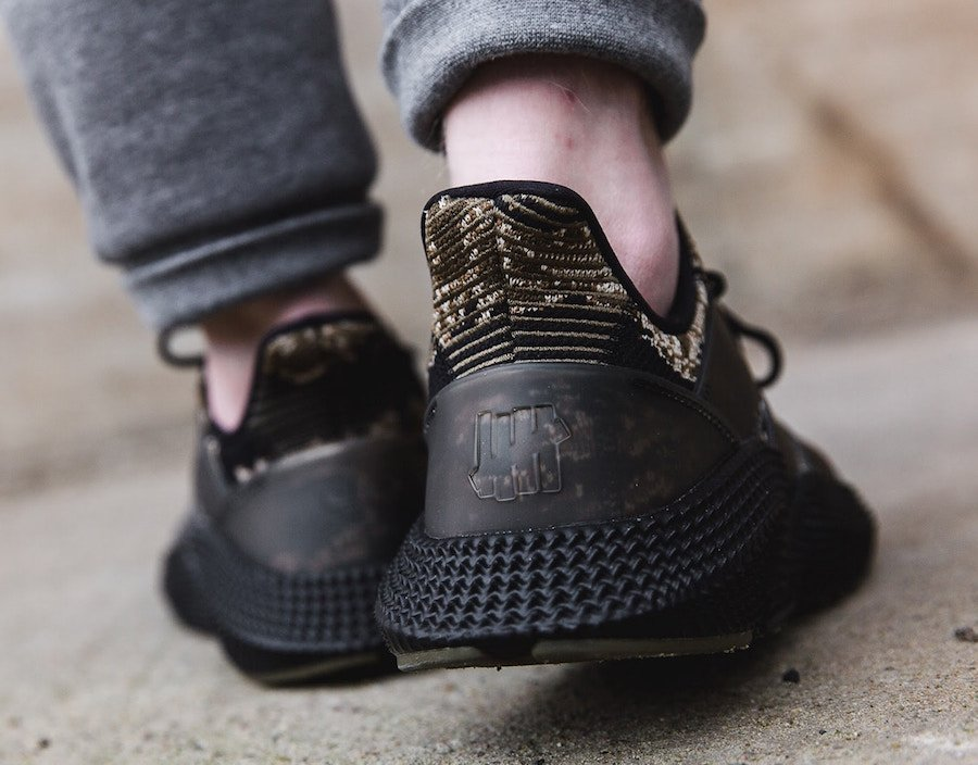 Undefeated adidas Prophere Camo On Foot