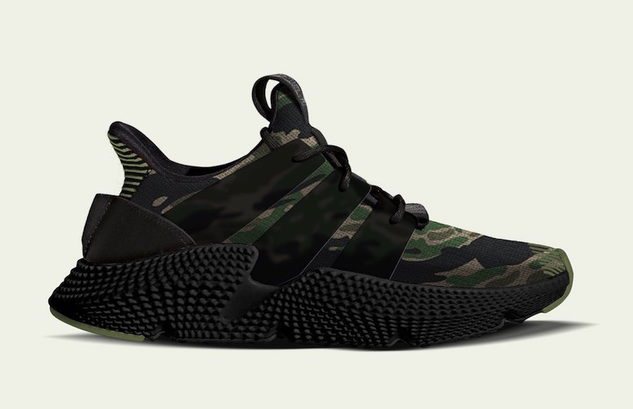 Undefeated adidas Prophere Camo Release Date
