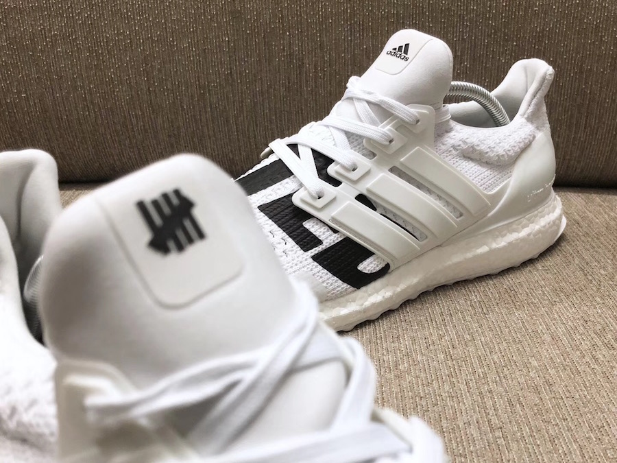 Undefeated adidas Ultra Boost White