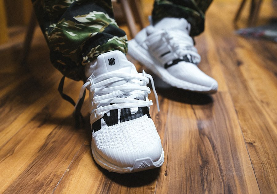 Undefeated adidas Ultra Boost White Black
