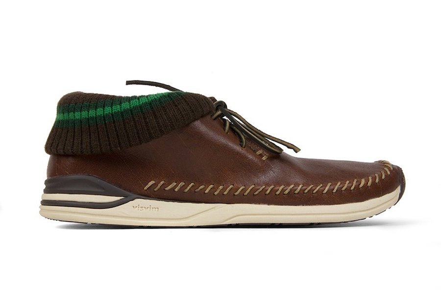 Visvim Leather Maliseet Folk Brown Leather