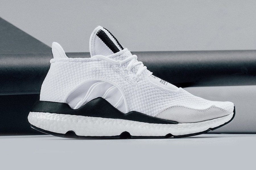adidas Y-3 Saikou Boost in White is Available for Pre-Order
