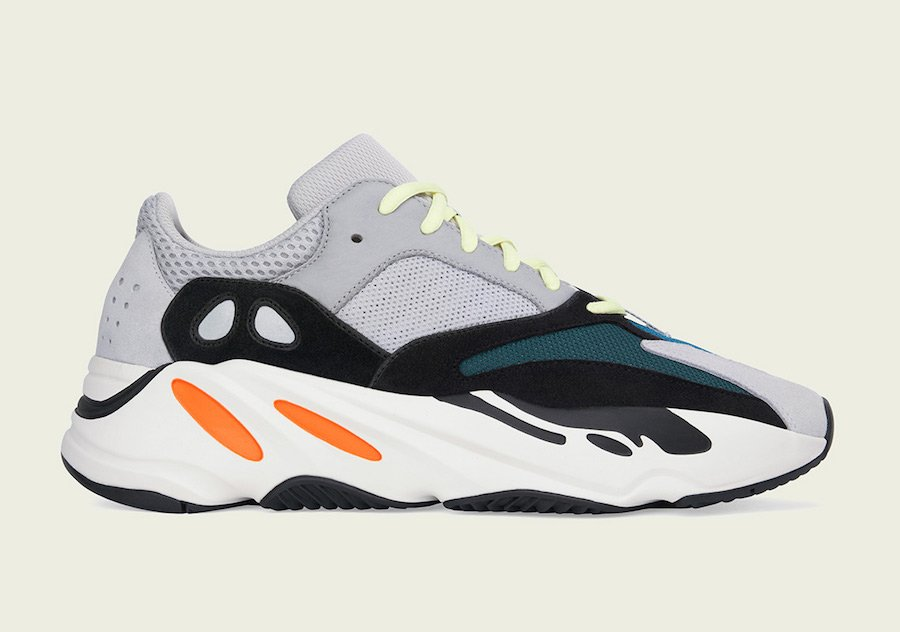 adidas Yeezy Boost 700 Wave Runner B75571 Grey White Black Green Orange