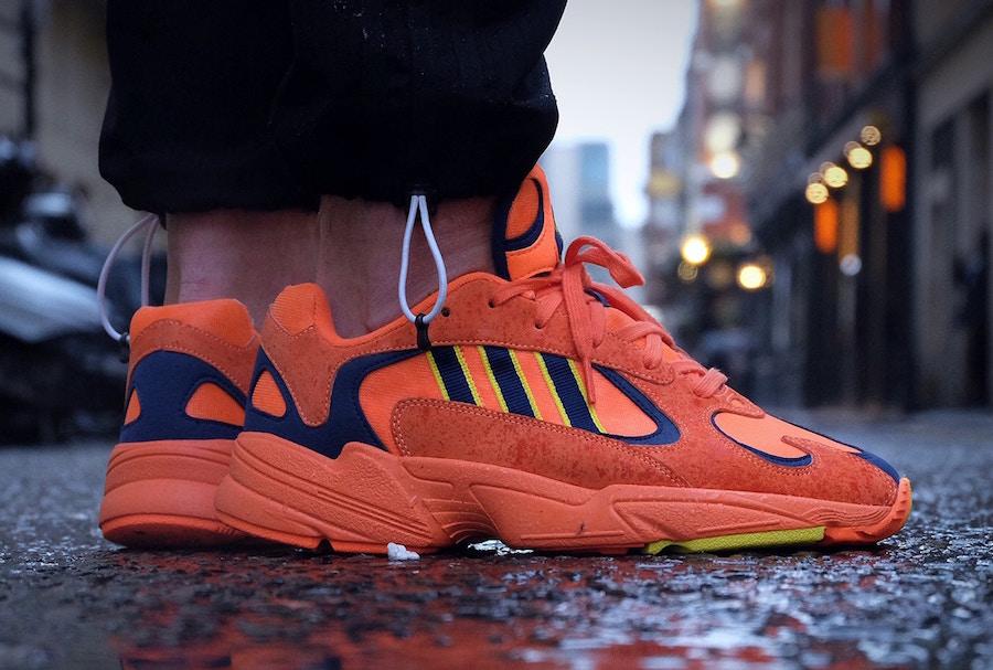 adidas Yung-1 Orange Navy Yellow