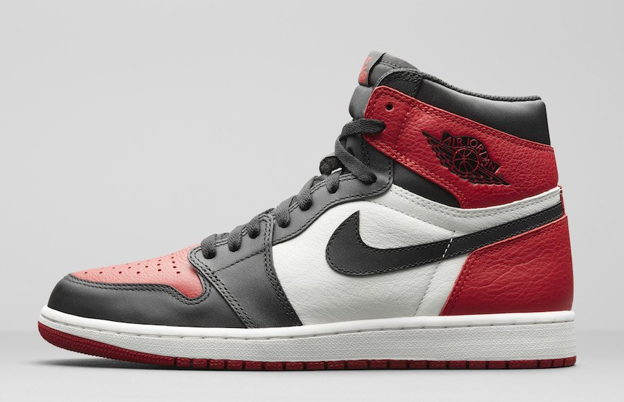Air Jordan 1 Bred Toe 555088-610
