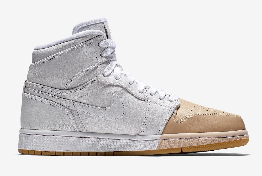 Air Jordan 1 Mid Tan Toe AH7389-107