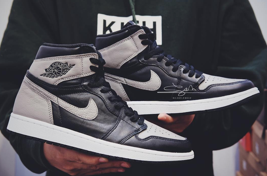 Air Jordan 1 OG Shadow 2018 Retro