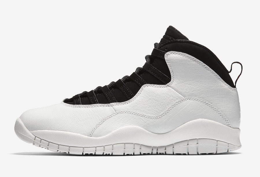 Air Jordan 10 Im Back Black White 310805-104