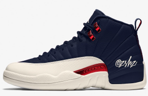 Air Jordan 12 College Navy 130690-445 Release Date