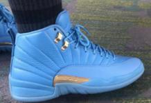 Air Jordan 12 University Blue Metallic Gold