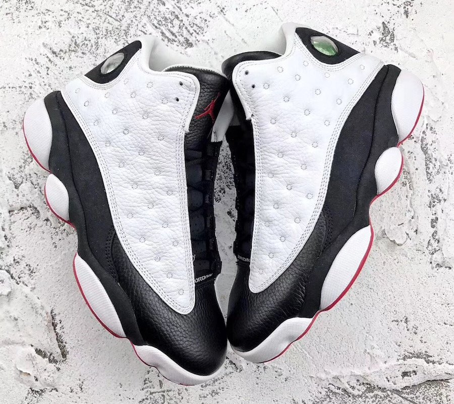 Air Jordan 13 He Got Game White Black True Red 2018 414571-104