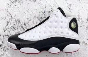 Air Jordan 13 He Got Game White Black True Red 2018 414571-104